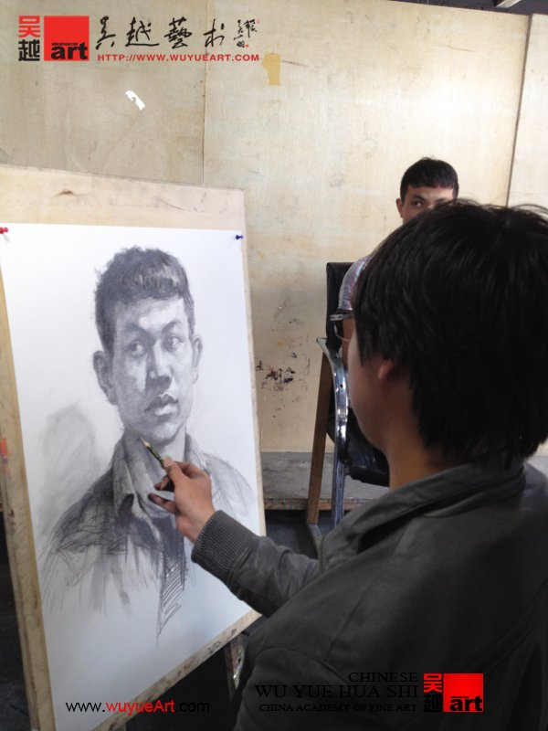 吴越画社教学视频拍摄队|杭州画室|杭州美术培训【】