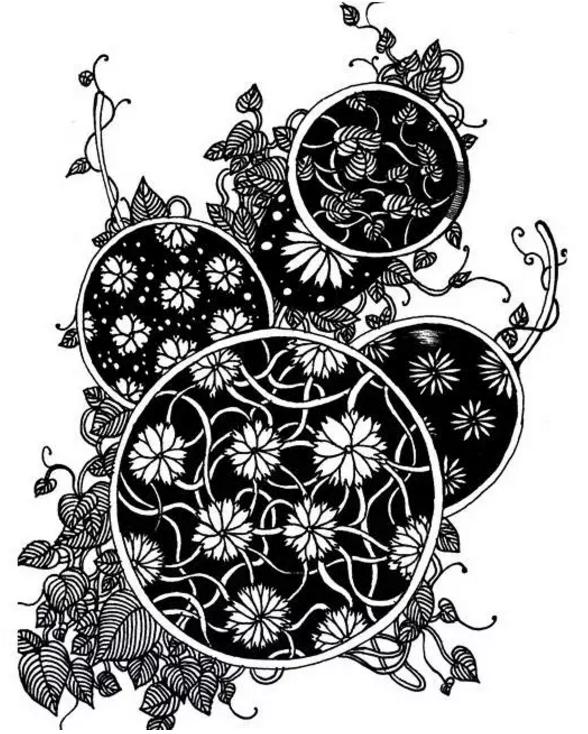 吴越画室                 校考设计|黑白装饰
