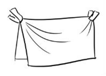 杭州吴越画室告诉你画衣服皱褶的窍门