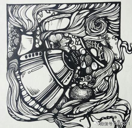 杭州吴越画社鼎力巨献:央美,川美,江南,北服等设计分析图片