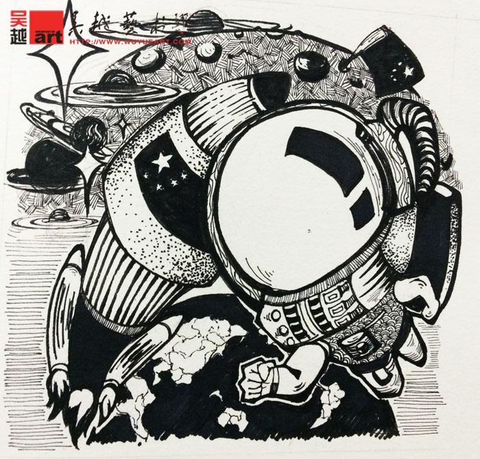 【图】黑白装饰画_价格:13.00