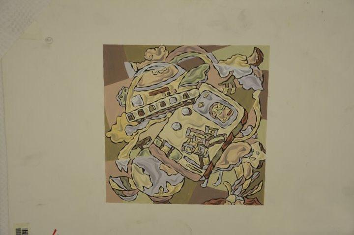 鲁迅美术学院高分装饰画欣赏图片