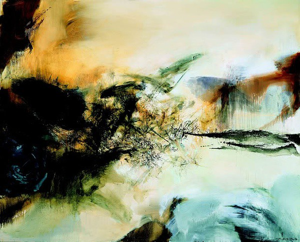 西方现代抒情抽象派的代表画家