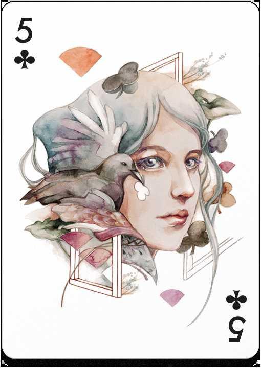 【史上最艺术扑克】54位艺术家54张插画设计扑克牌