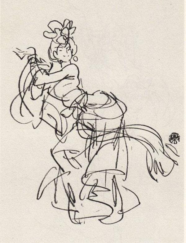 手绘海报舞蹈社
