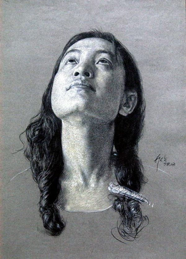 大师素描头像——献给美术生!
