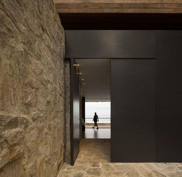 【建筑元素】入口设计,在进与出之间_杭州吴越画室