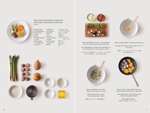 日本食谱书排版欣赏 杭州画室 杭州美术培训【杭州】