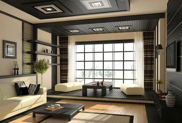 日本禅意十足现代室内设计|杭州画室|杭州美术培训图片