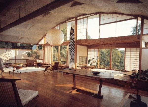 日本禅意十足现代室内设计 杭州画室 杭州美术培训