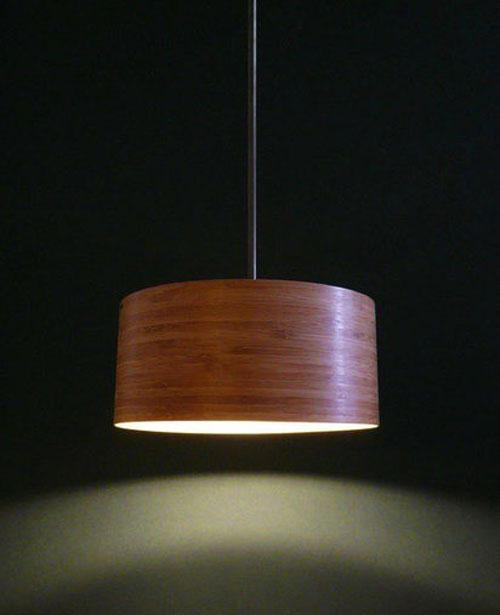 光】竹制灯具设计,体验自然之美
