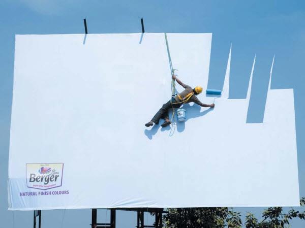 3.油漆广告:大自然的颜色