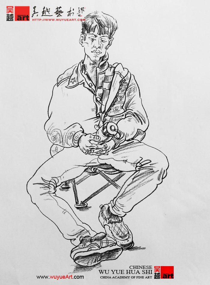 美术考试速写科目小技巧|杭州画室|杭州美术培训【】