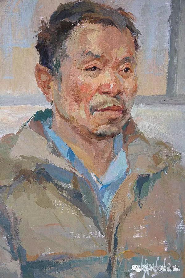 杭州吴越画室教师色彩头像作品集|杭州画室|杭州美术