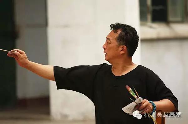 杨参军 视觉的凝聚 吴越 人物图片