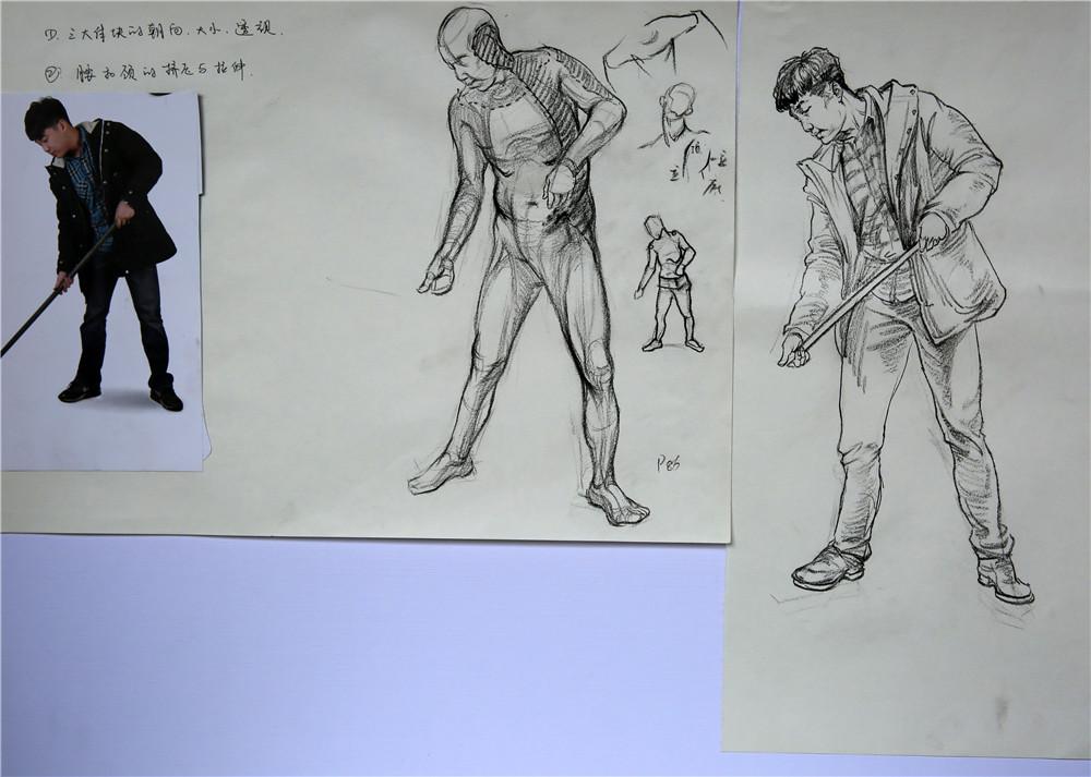 吴越· 教程丨国美雕塑系硕士:教你如何画好速写(附速写视频,教学课件