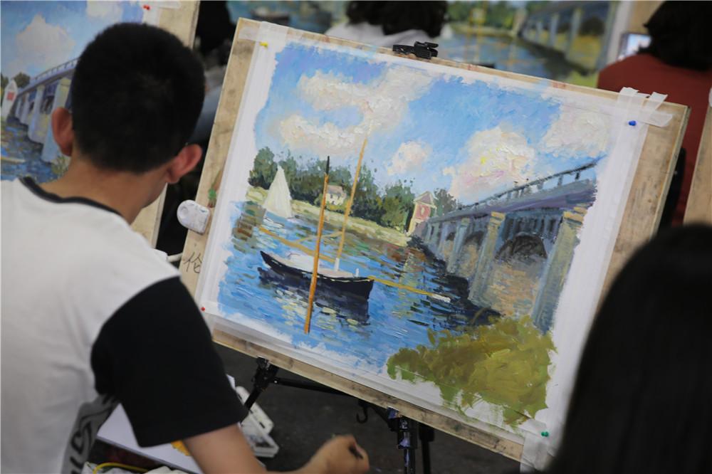 吴越· 新闻丨杭州吴越画室:新高三色彩风景近期课程汇报