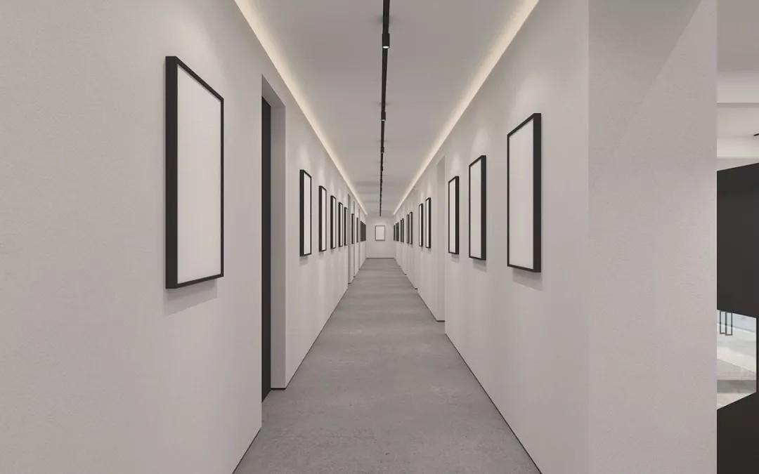 走廊区域基本设计定调