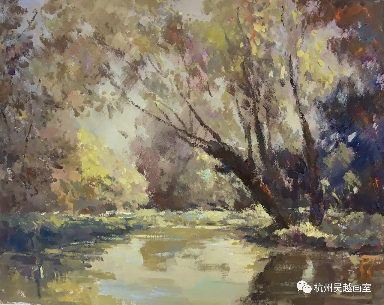 绘画教程丨色彩风景篇:想要风景画的好,先从大师风景开始入手!